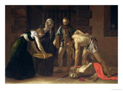 The Decapitation of St. John the Baptist, 1608 (Detail)