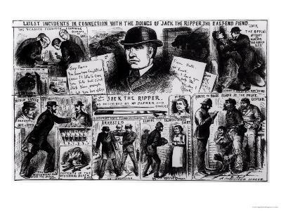 Latest Incidents in Connection with the Doings of Jack the Ripper, the East End Fiend, 1888