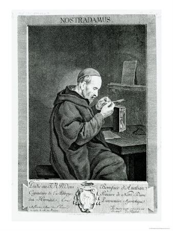 Portrait of Michel Nostradamus