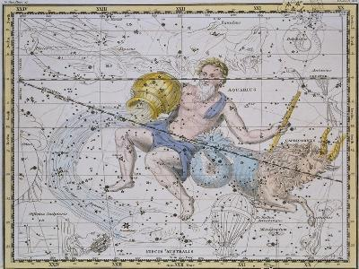"Aquarius and Capricorn, from ""A Celestial Atlas,"" Published in 1822"