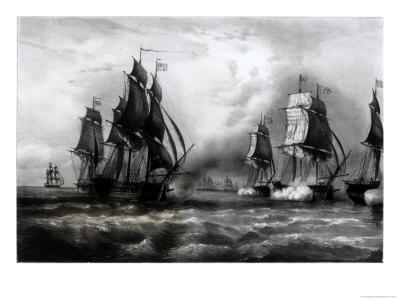 """John Paul Jones's """"Ranger"""" Ship, 1793"""