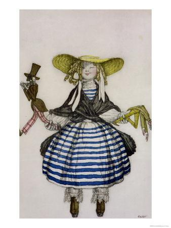 Costume for the Puppet Girl, from La Boutique Fantastique, 1917