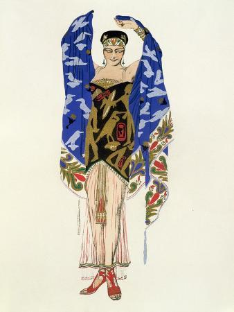 Costume Design for a Dancing Girl