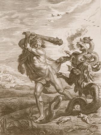 Hercules Fights the Lernian Hydra, 1731