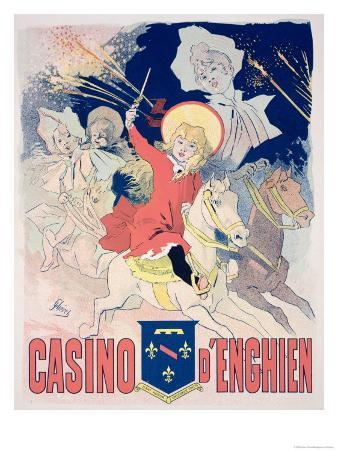 "Reproduction of a Poster Advertising the ""Casino D'Enghien,"" 1890"