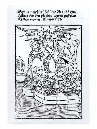 "Scene from ""The Navigation of St. Brendan"""
