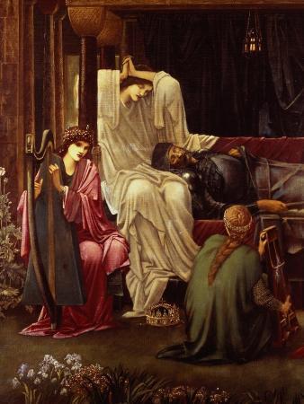 The Last Sleep of Arthur in Avalon, 1881-98 (Detail)