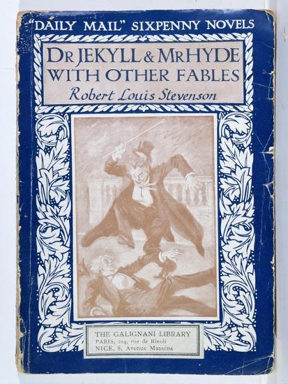 Front Cover Of The Strange Case Of Dr Jekyll And Mr Hyde By