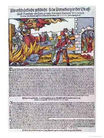Witches Burnt in Derneburg in 1555