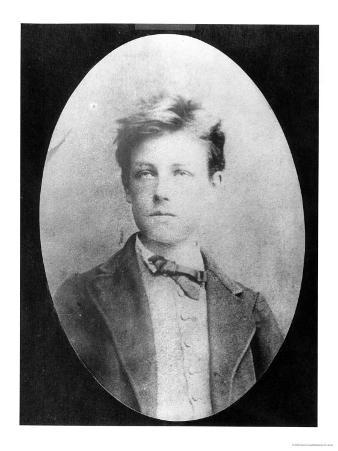 Portrait of Arthur Rimbaud, circa 1870