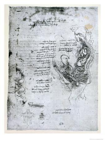 Coition of Hemisected Man and Woman, Facsimile Copy
