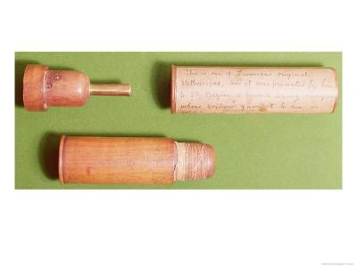 One of the First Stethoscopes, Invented by Rene Theophile Hyacinthe Laennec in 1816