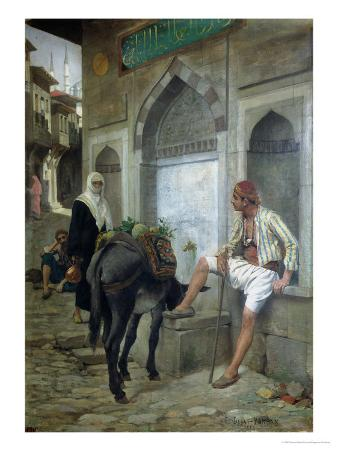 A Street in Istanbul, 1883