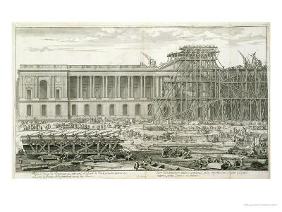 Building of the Main Entrance of the Louvre, Paris