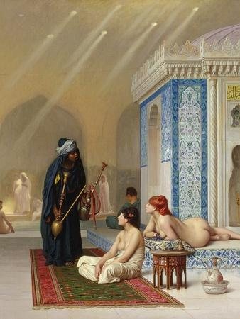 Pool in a Harem, circa 1876