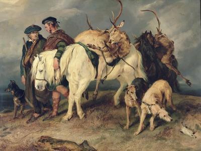 The Deerstalkers' Return, 1827