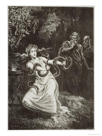 "The Pythia, from ""L'Histoire De La Magique"""