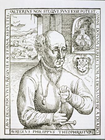 Portrait of Theothrastus Paracelsus