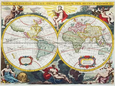 World Map, Early 18th Century