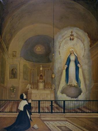 Apparition of the Virgin to St. Catherine Laboure 31st July 1830, 1835