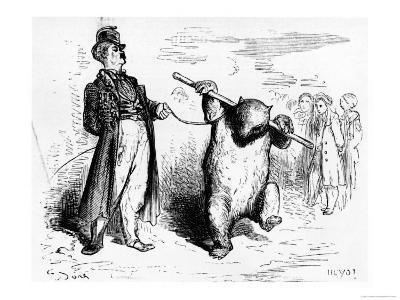 """Ring Master, Illustration from """"Voyage Aux Pyrenees"""""""