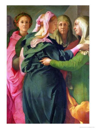The Visitation, 1528-30 (Detail)