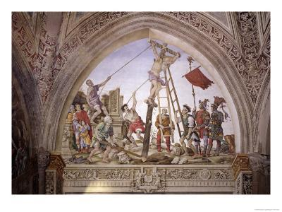 Martyrdom of St. Philip, South Wall of Strozzi Chapel, circa 1497-1502