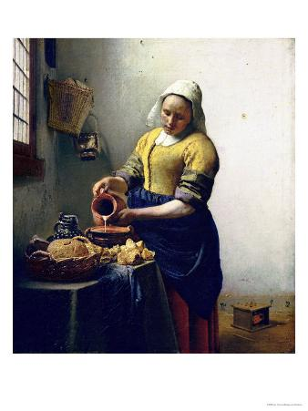 The Milkmaid, circa 1658-60