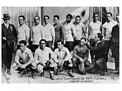 The Uruguay Football Team at the Paris Olympic Games, 1924