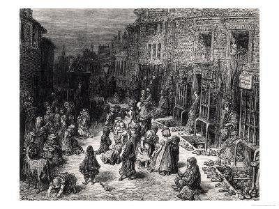 "Dudley Street, Seven Dials, from ""London: a Pilgrimage,"" 1872"
