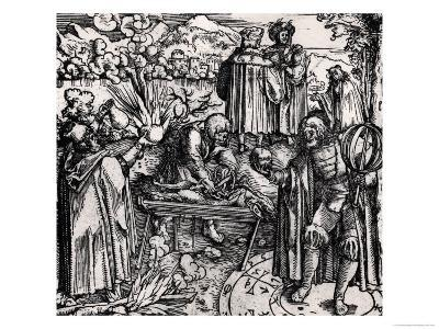 Scenes of Divination, Including Haruspication, Pyromancy and Necromancy