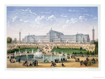 Crystal Palace, Sydenham, circa 1862