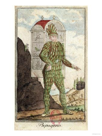 "Papageno the Bird-Catcher, from ""The Magic Flute"" by Wolfgang Amadeus Mozart"