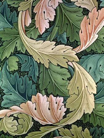 """Acanthus"" Wallpaper Design, 1875"