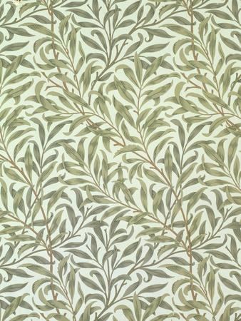 """Willow Bough"" Wallpaper Design, 1887"