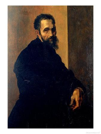 Portrait of Michelangelo, circa 1535