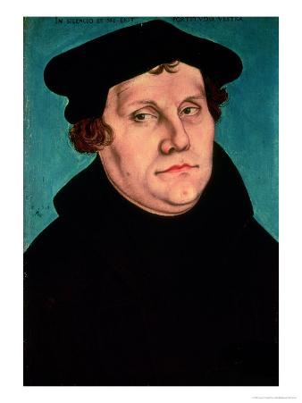 Portrait of Martin Luther, 1529