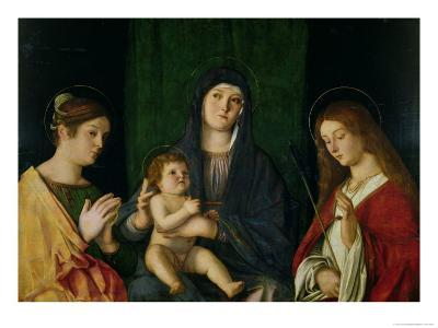 The Virgin and Child with St. Catherine and St. Ursula