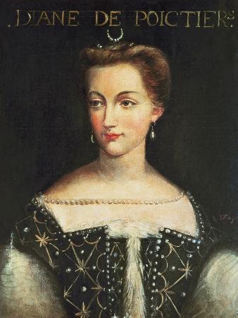Diane De Poitiers Mistress of Henri II, King of France