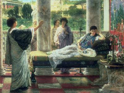 Anacreon Reading His Poems at Lesbia's House