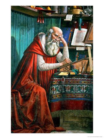 St. Jerome in His Study, 1480 (Detail)