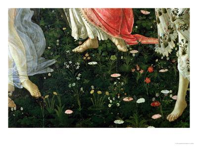 Primavera: Detail of Flowers