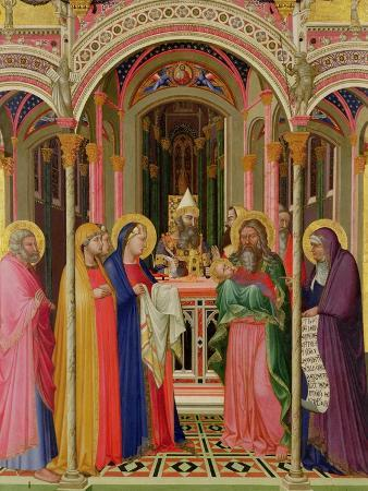 The Presentation in the Temple, 1342