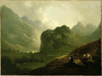 A Sketching Party in the Pass at Borrowdale