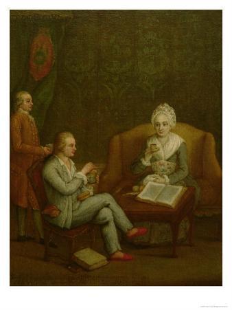 Adriana Giustinian Barbarigo and Her Son Gerolamo Ascanio, circa 1776-79