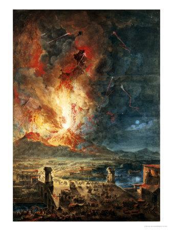 The Great Eruption of Mt. Vesuvius