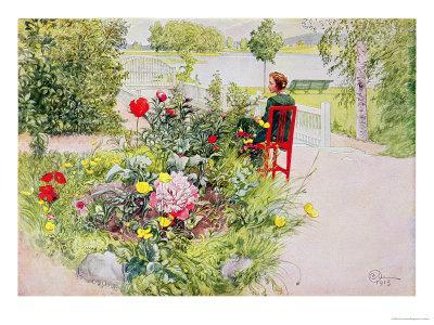 Summer in Sundborn, 1913, from a Commercially Printed Portfolio, Published in 1939