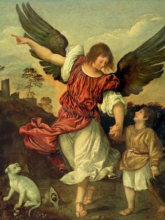 Raphael and Tobias, 1507-8