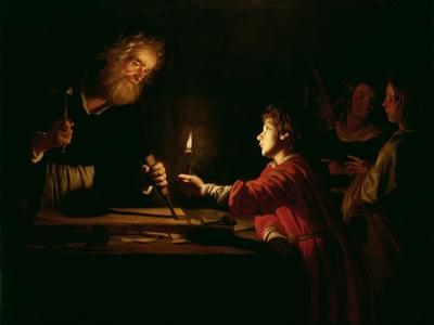 The Childhood of Christ, circa 1620