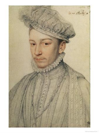 Portrait of King Charles IX of France, 1566